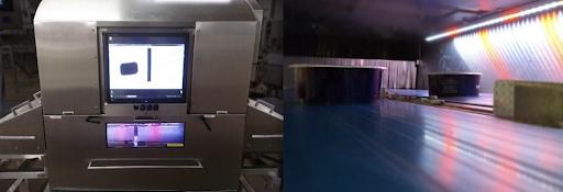 Medidor de envases con rayos X
