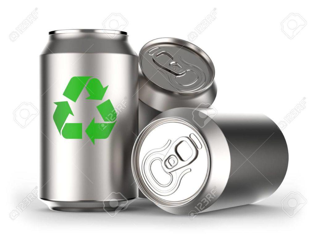 Las latas de hojalata o aluminio es el sistema de envasado mas reciclable.